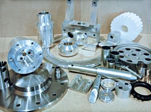 Muster aus der Teilefertigung von Metec-CNC